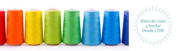 Hilos para maquinas de coser