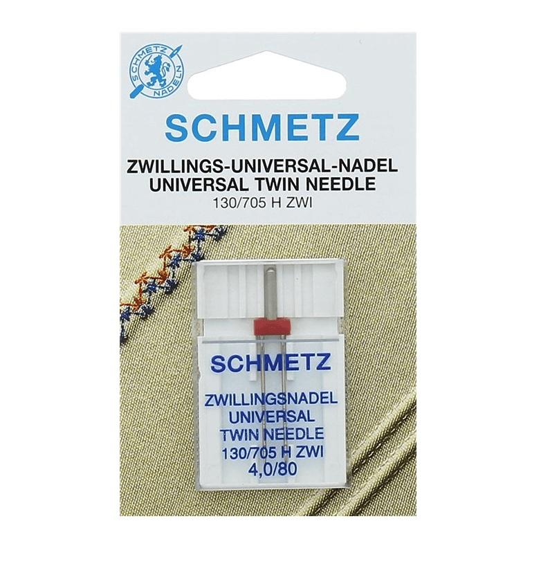 Agujas Schmetz Gemela130/705