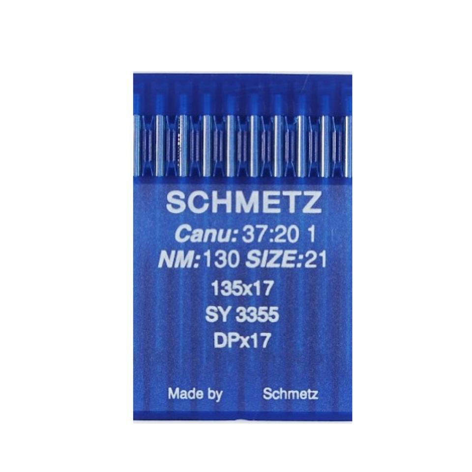 10 agujas Schmetz 135x17