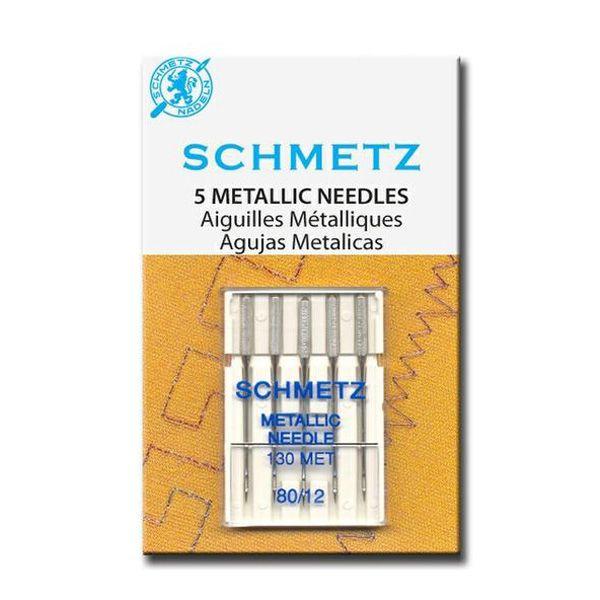 Aguja Schmetz  para Hilos Metálicos