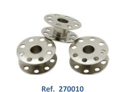 Pack 10 Canillas Ref 270010 para maquina de coser industrial