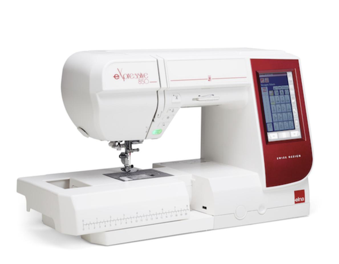 Maquina de coser y bordar Elna 850 expressive