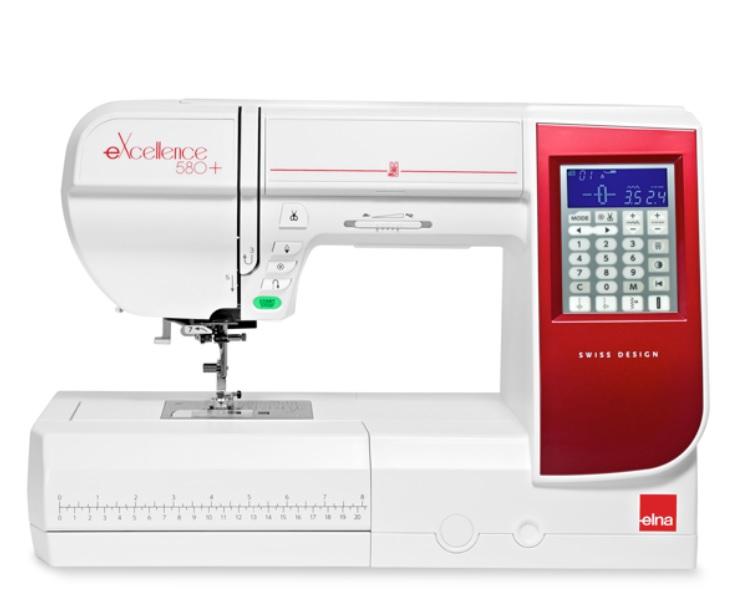 Maquina de coser ELNA 580+ excellence