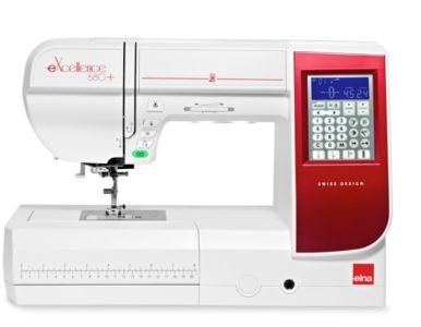 Máquina de coser Elna 680 + Excellence