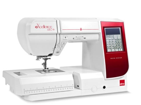 ELNA 680  maquina de coser electrónica profesional