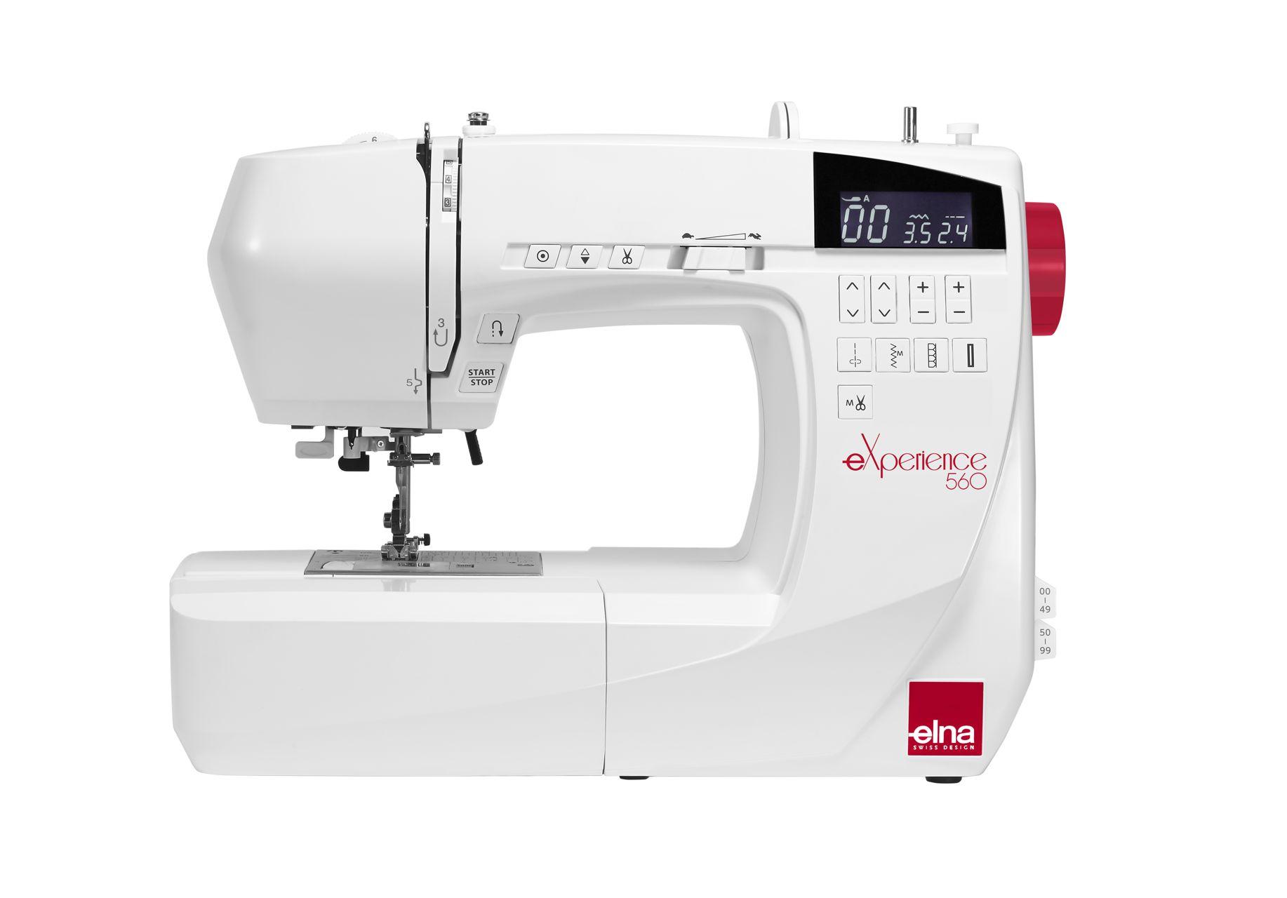 Máquina de coser  Elna 560 Experience