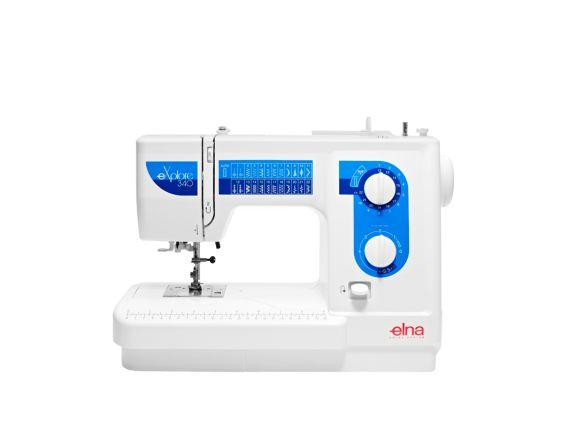 maquina de coser elna explore 340