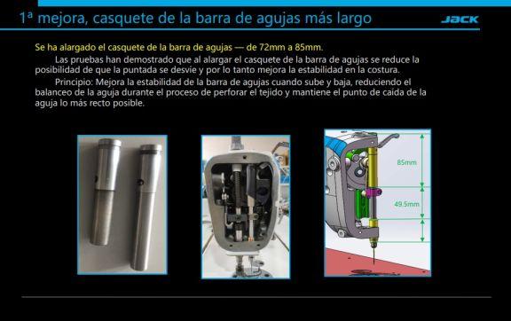 Maquina de coser industrial Jack A5E