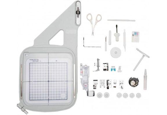 Maquina de coser y bordar janome MC9850