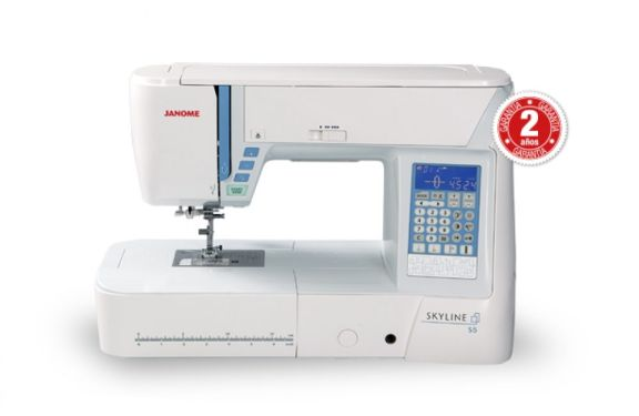 Maquina de coser Janome Skyline S5