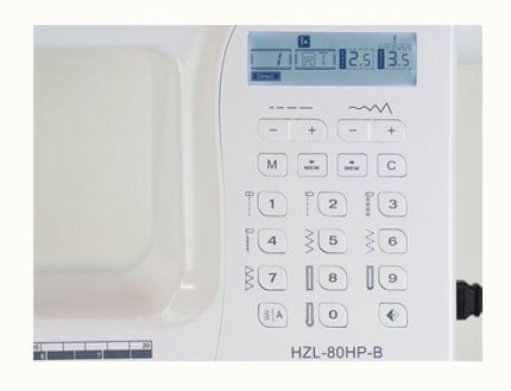 Maquina de coser electronica Juki HZL 80H entremaquinasdecoser