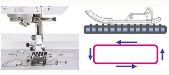 maquina de coser electronica Brother innovis F460