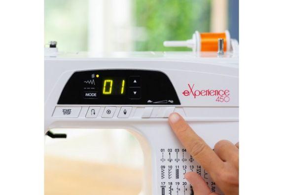 Maquina de coser elna experience 450 pantalla
