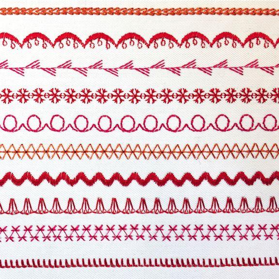 Maquina de coser elna 530
