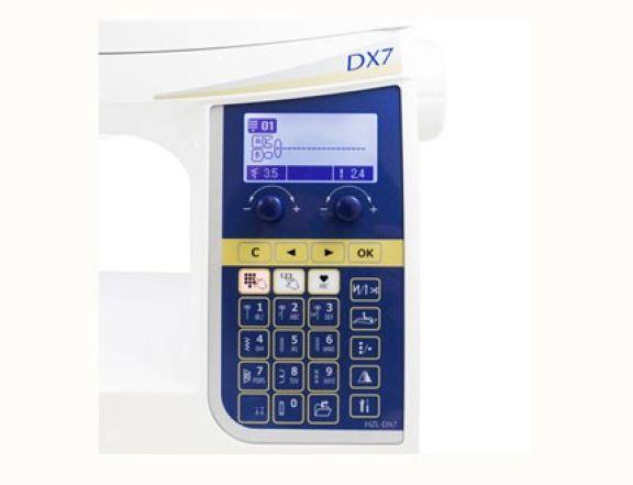 Maquina de coser Juki HZL DX7