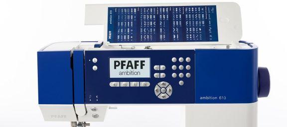 Maquina de coser Pfaff Ambition 610