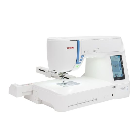 Maquina de coser y bordar janome skyline S9