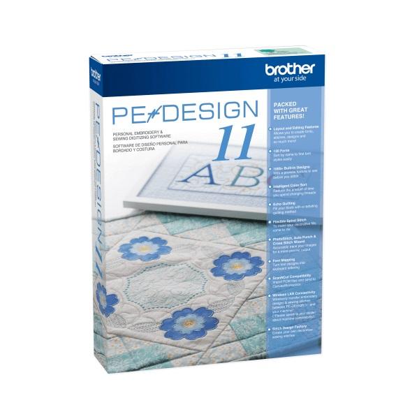 Software de Bordado Brother Pe Desing 11