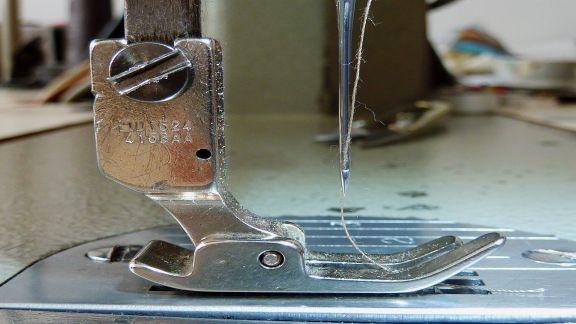 Partes de las agujas  para maquinas de coser