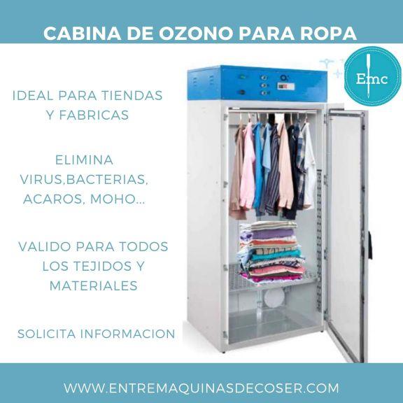 Cabina de Ozono para ropa