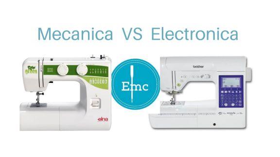 ¿Maquina de coser mecánica o electrónica?